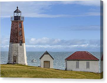 Point Judith Lighthouse Canvas Print by Capt Gerry Hare