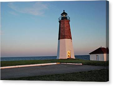 Point Judith Lighthouse Rhode Island Canvas Print