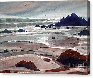Point Lobos Canvas Print by Donald Maier