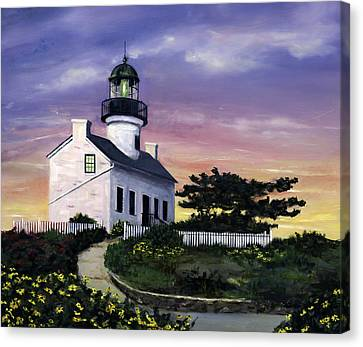 Point Loma Canvas Print by Lisa Reinhardt