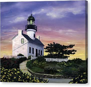 Point Loma Canvas Print by Lisa Reinhardt