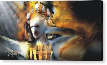 Point Of No Return Canvas Print by Bob Salo