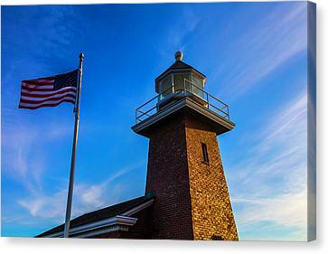 Point Pinos Lighthouse Canvas Print by Garry Gay