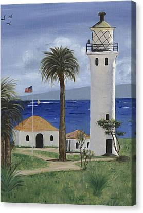 Point Vicente Lighthouse Canvas Print by Jamie Frier