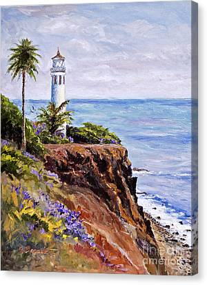 Point Vicente Palos Verdes Canvas Print