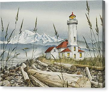 Point Wilson Lighthouse Canvas Print