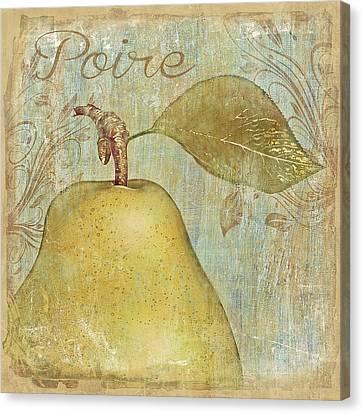Poire Canvas Print