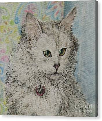 Poised Cat Canvas Print