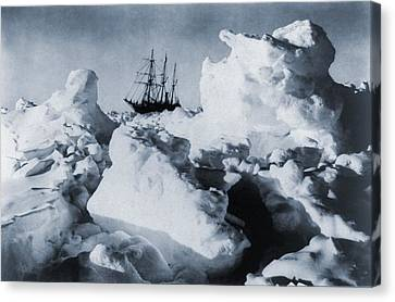 Polar Explorer, Ernest Shackletons Canvas Print by Everett