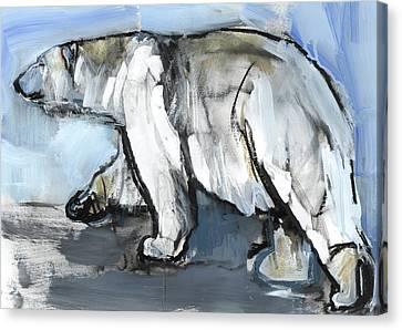 Polar Canvas Print by Mark Adlington