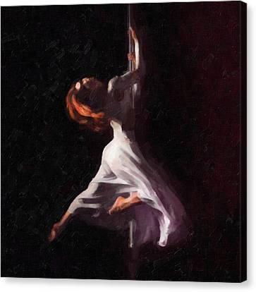 Pole Dance 1 Canvas Print