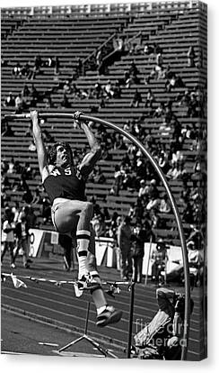 Pole Vaulter Canvas Print