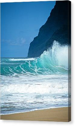 Polihale Beach  Canvas Print by Kevin Smith