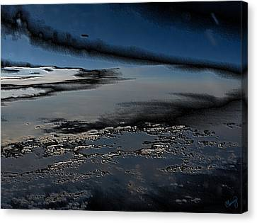Polished Sky Canvas Print