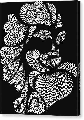 Polkadot Lover Canvas Print by Hye Ja Billie