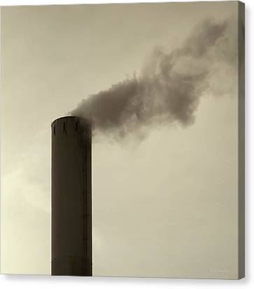 Pollution Canvas Print by Wim Lanclus