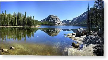 Polly Dome Over Tenaya Lake - Yosemite Canvas Print by Bruce Lemons