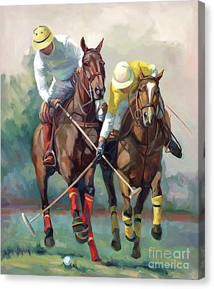 Polo Hein Canvas Print