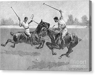 Remington Canvas Print - Polo Players by Frederic Remington