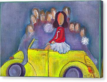 Pom Pom Pam Canvas Print