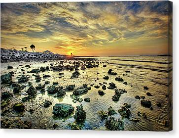Ponce Inlet Jetty Canvas Print