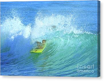 Florid Canvas Print - Ponce Surf by Deborah Benoit