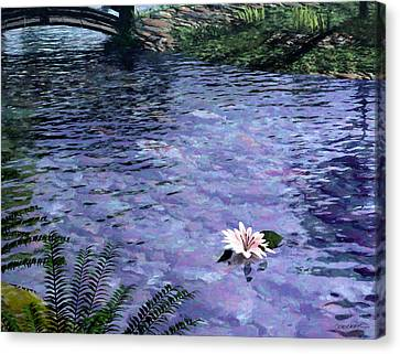 Pond Canvas Print by Cynthia Decker