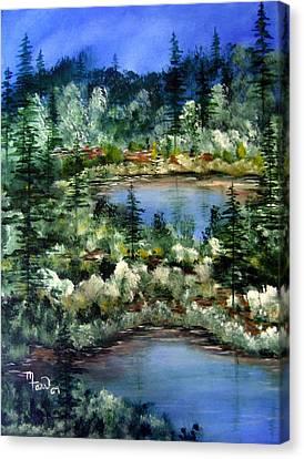 Pond Pond Canvas Print by Mark Farr