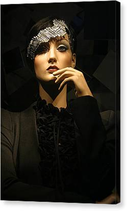 Ponder Me For A Moment Canvas Print by Jez C Self