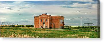 Pendroy School Canvas Print by Todd Klassy