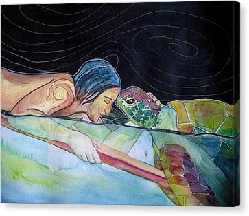 Pono--harmony Canvas Print