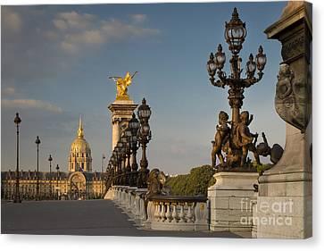 Pont Alexandre IIi At Dawn Canvas Print by Brian Jannsen