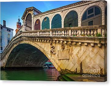Ponte Rialto Canvas Print