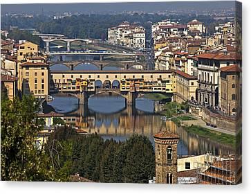 Ponte Vecchio - Florence Canvas Print by Joana Kruse