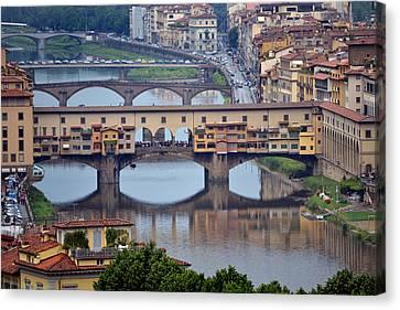 Ponte Vecchio Canvas Print by Terence Davis