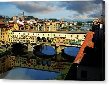 Ponte Vecchio View  Canvas Print