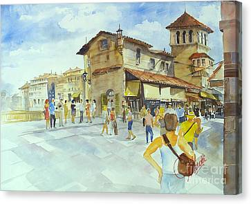 Ponti Vecchio Canvas Print