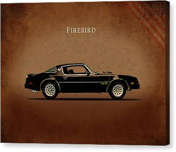 Pontiac Firebird Canvas Print by Mark Rogan
