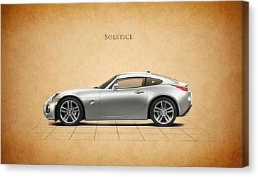 Pontiac Solstice Canvas Print
