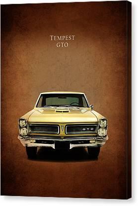 Pontiac Tempest Gto Canvas Print by Mark Rogan