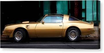 Pontiac Trans Am Canvas Print by Andrew Fare