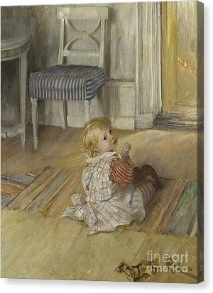 Pontus, 1890 Canvas Print by Carl Larsson