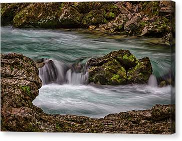 Canvas Print featuring the photograph Pool In The River by Stuart Litoff