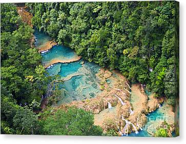 Pools Panorama Canvas Print by Yuri Santin