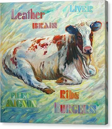Poor Miss Bessie Canvas Print