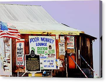 Poor Monkey's Juke Joint Canvas Print