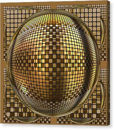 Pop Art Circles Canvas Print