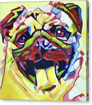 Pop Art Pug 1 Canvas Print