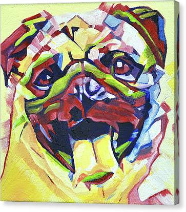 Pop Art Pug Canvas Print by Cameron Dixon