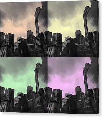 Pop City 2 Canvas Print